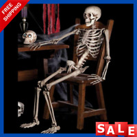Haunted Hanging Skeleton Halloween Prop Life Size Props House Decoration Party