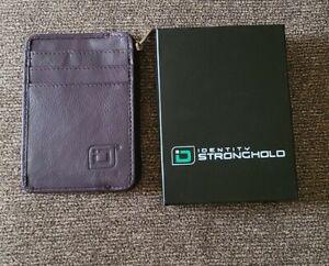 Identity Stronghold RFID Minimalist Wallet Mini (#IDSH7004) Purple