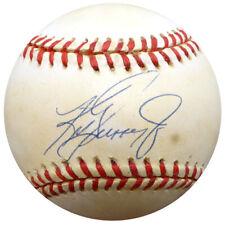 Ken Griffey Jr. Autographed Signed AL Baseball Seattle Mariners UDA COA BAD27327