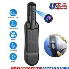 HD 1080P Mini Hidden Spy Pocket Pen Camera Portable Body Video Recorder Cam US