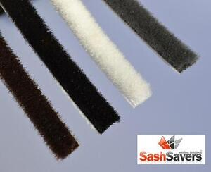 Self Adhesive brush pile draught excluder for window and door Brush Pile Seal