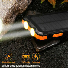 900000mAh POWER BANK Solar BATTERY CHARGER FOR ALL MOBILE PHONES IPHONE XR,11pro