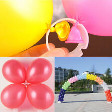 50/100 Balloon Arch Stand Connectors Clip Ring Buckle Wedding Birthday Decor
