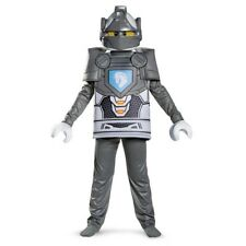 Boys Child Lego Nexo Knights Lance Silver Deluxe Costume