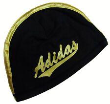 ADIDAS Attitude Damen Beanie Mütze Kappe schwarz/gold *NEU*