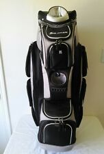 Nice ORLIMAR Black/Gray Cart/Carry golf bag with cooler pocket and 14 dividers