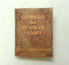 Dollhouse Miniature Book - Shakespeare Othello Miniatures for Doll House