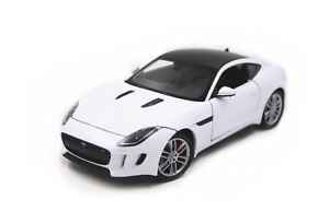 Welly 1:24 JAGUAR F-Type FT Coupe Diecast Model Sports Racing Car Toy White