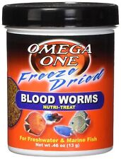 Omega One  Freeze Dried Bloodworms .46 oz (Blood worms)