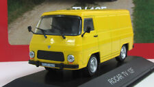 Scale model car 1:43, Rocar TV12F yellow 1973