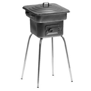 forno alto pic-nic fornacella in lamiera a carbone carbonella barbecue