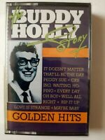 Buddy Holly The Story Golden Hits Cassette Brand New Sealed