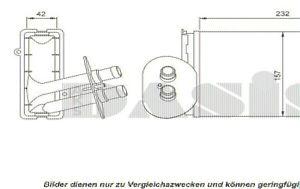 AKS DASIS Wärmetauscher, Innenraumheizung  für VW