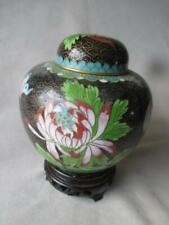 Great Old Chinese Cloisonne Ginger Jar / Vase