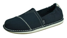 Skechers BOBS Chill Waterfront Womens Espadrilles Slip On Beach Shoes Navy