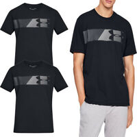 Under Armour Mens T Shirt T-Shirt Fast Graphic TShirt Tee Top Black Size
