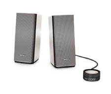 Bose COMPANION-20 MULTIMEDIA SPEAKER SYSTEM Versatile Control Pod, Natural Sound