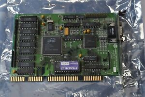 Vintage Diamond Stealth 24 16bit ISA VGA SVGA Video Card