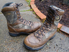 DANNER PRONGHORN GTX GORE-TEX BROWN LEATHER HUNTING BOOTS SIZE 8.5 D