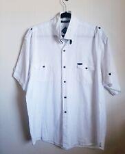 Blanc du Nil XXL Men's Premium Short sleeve shirt 100% premium Super light Cottn