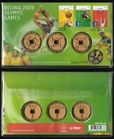 PAIR of CONSECUTIVE NUMBERS Ltd Ed 751/752/10000 BEIJING 2008 OLYMPIC GAMES PNC