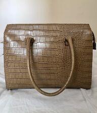 100% Authentic David Jones (Paris) Faux Leather Tote Satchel Women's Handbag Bag