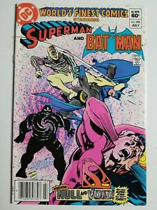 World's Finest (1941) #293 - Very Fine - Superman, Batman, Newsstand variant