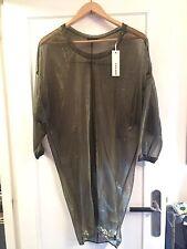 BNWT Sheer Diesel Dress XS (Robe Diesel Transparente)