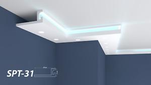 XPS Polystyrene LED IndirectLighting Uplighter Lightweight Coving Cornice SPT-31