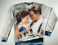 Película Titanic Mr. 1991 Inc & Miss Allover Impresión Gráfica Sudadera Top Jack Rose