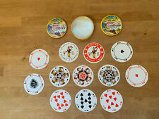Vintage Round Cedar Point Souvenir playing Cards Complete Deck - WPP & Toys Dist