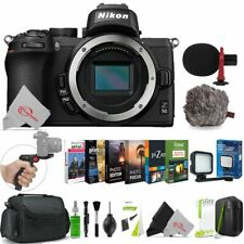Nikon Z 50 Mirrorless Digital Camera Body with Software Bundle Accessory Kit