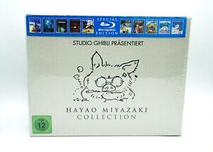 Hayao Miyazaki Collection Blu-Ray Edizione Speciale Studio Ghibli - Nuovo Ovp