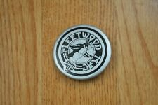 Fleetwood Mac Original 1977 'Rumours' Tour Penguin Mascot Button