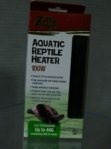 ZILLA AQUATIC REPTILE HEATER 100W IN BOX