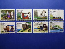 LOT 133 TIMBRES STAMP TRANSPORTS TYPIQUES MADERE MADEIRA PORTUGAL ANNEE 1984-5