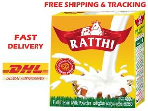 Fonterra Ratthi Raththi full cream Milk Powder 400g, Free Shipping & tracking