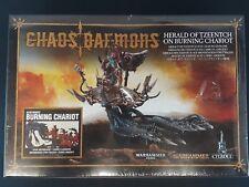 Warhammer Fantasy / 40K Chaos Daemons Burning Chariot Herald of Tzeentch - NEW