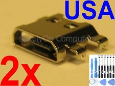 2x Micro USB Charging Charger Sync Port For LG K20 Plus MP260 TP260 VS501 Phone