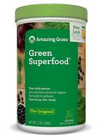 Organisch Superfood Formel mit Omega 3 Leinsamen, Probiotika, Gerstengras -480 g