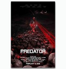 The Predator 4 Shane Black Hot New 2018 Horror Movie Poster 21 24x36 E-1029
