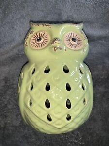 Mainstays Ceramic Owl Tea Light Holder Lantern
