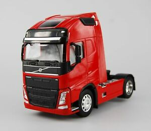 WELLY VOLVO FH RED 1:32 SUPER HAULIER MODELS DIE CAST MODEL NEW IN BOX 18cm