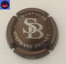 Capsule de Champagne BRUNET STEPHANE Marron et Argent  !!!!