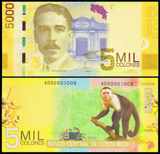 Costa Rica 5000 Colones 2009(2012) UNC**New