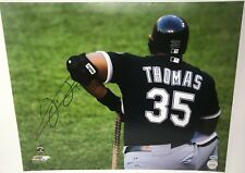 Chicago White Sox Frank Thomas #35 Signed 16x20 Unframed Photo - Certified