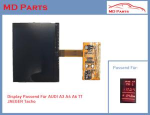 FIS MFA JAEGER LCD Qualitäts Tacho Display passend für AUDI A3 A4 A6 TT JAEGER