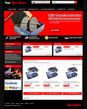 eBay Professional Design Listing Template and Store Layout Theme Navy new