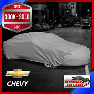 CHEVY [OUTDOOR] CAR COVER ✅ All Weatherproof ✅ Waterproof ✅ Superior ✅CUSTOM✅FIT