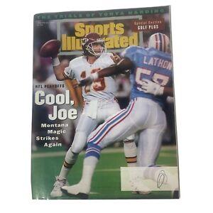 Sports Illustrated January 24, 1994 Vol 80 No 3 Golf Plus, Cool Joe Montana